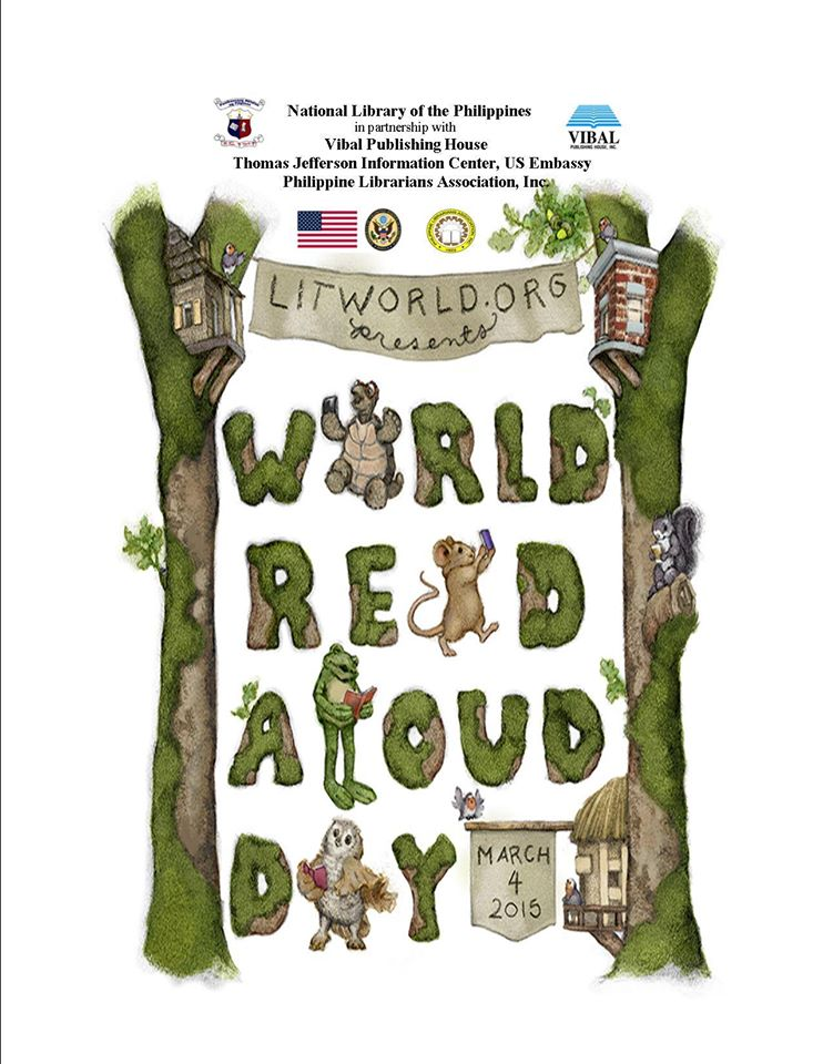 The National Library of the Philippines celebrates World Read Aloud Day 2015