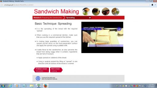 Sandwich Making