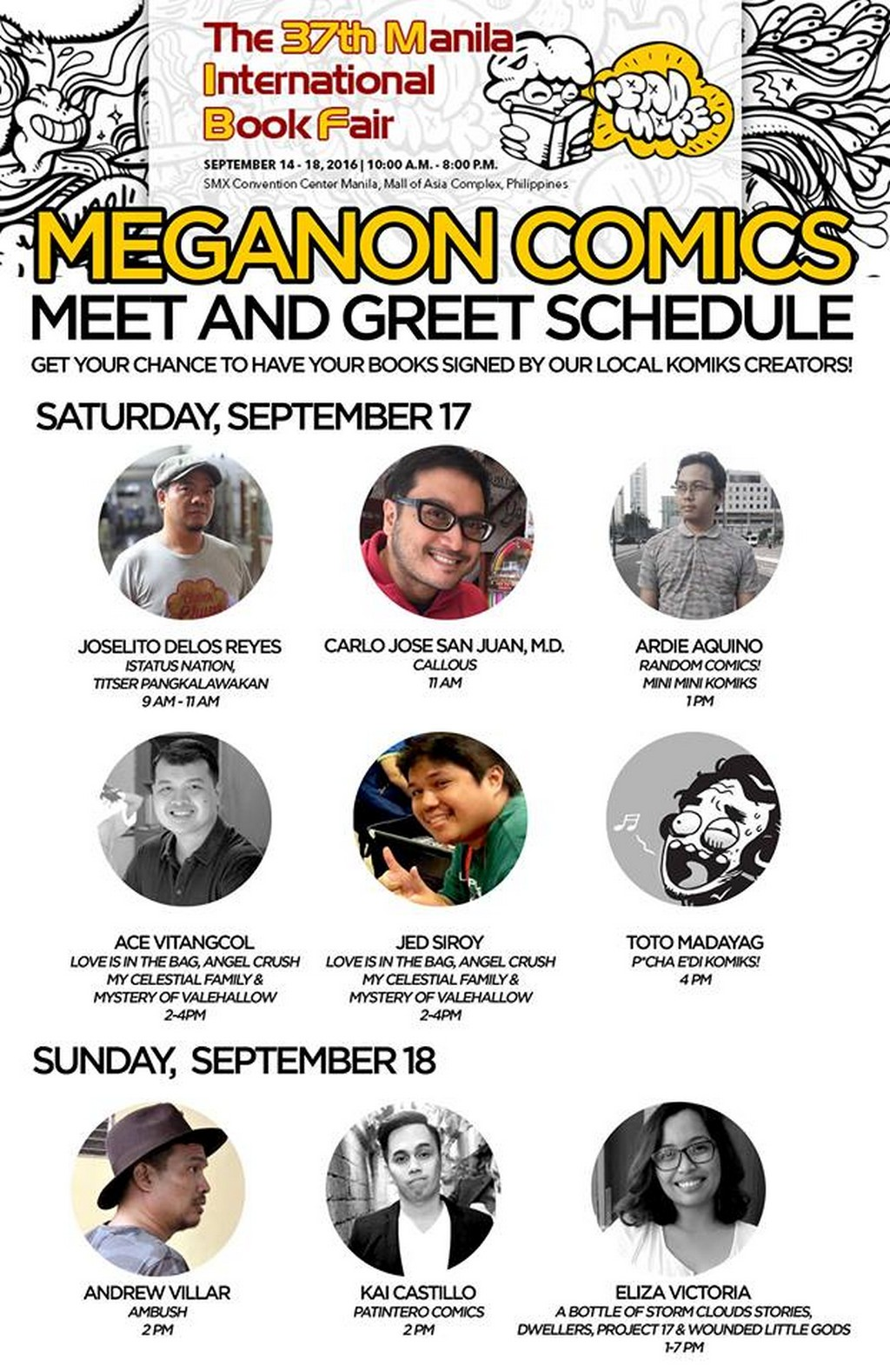 MIBF2016_meganon_comics_meet_and_greet