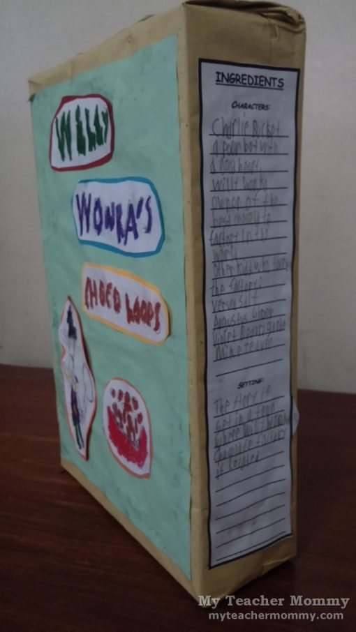 Cereal Box Book Report Of Charlie And The Chocolate Factory Th