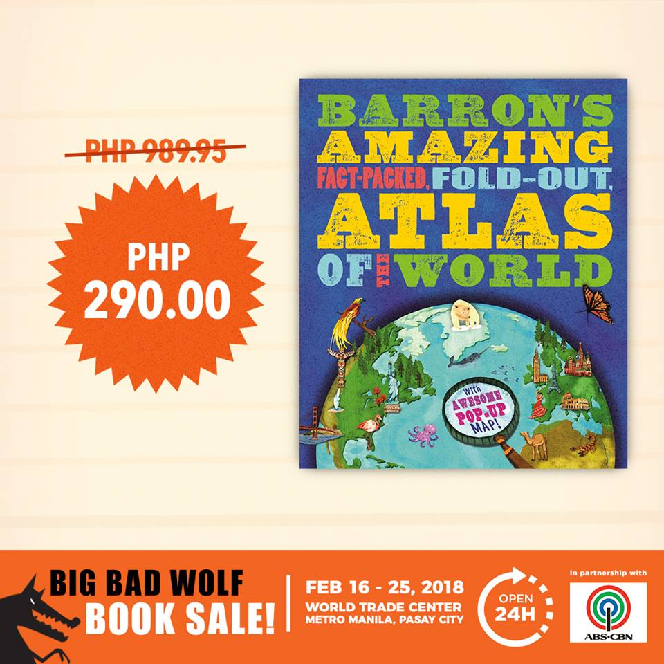 Big bad wolf book sale 2018 the biggest and baddest of book fairs what makes the big bad wolf book fair 2018 colossal in scope is not only the number of books theyre bringing to the world trade center in pasay city on gumiabroncs Choice Image