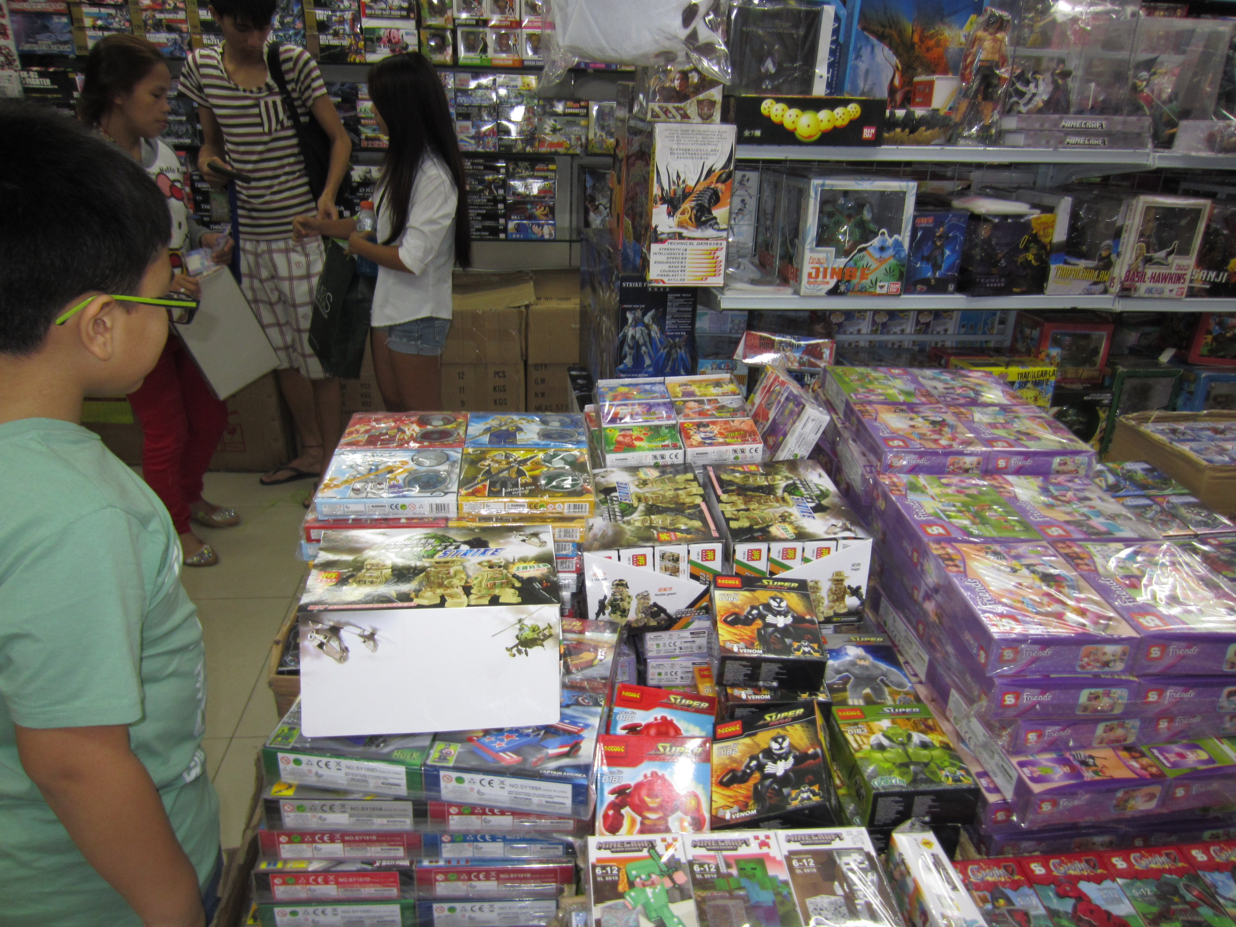 Toy shopping in Divisoria. Chinese New Year, 2015.