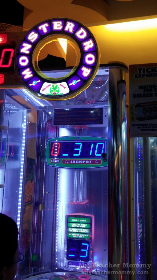 Monster Drop game at Timezone