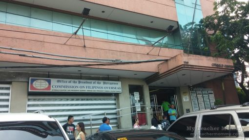 CFO Office along Quirino Avenue, Manila