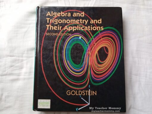 Algebra and Trigonometry and Its Applications, a Booksale find.